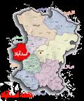 نقشه ماهواره ای اسدآباد